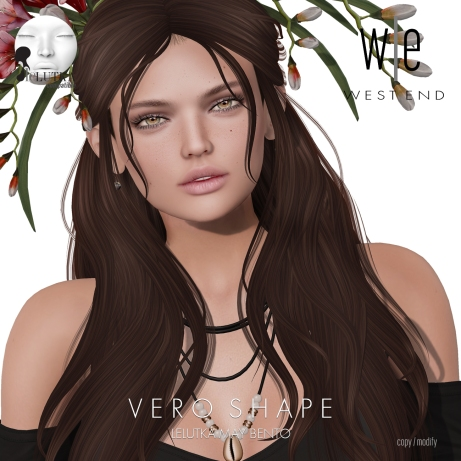 [ west end ] Shapes - Vero (Lelutka May Bento)