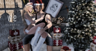 [ west end ] Poses - Santa Baby Couples Pose - 2048