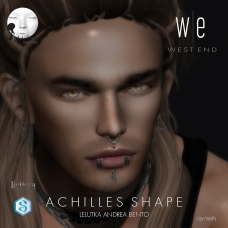 [ west end ] Shapes - Achilles (Lelutka Andrea Bento) AD