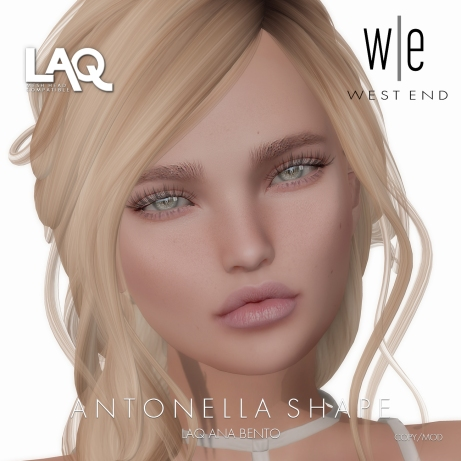 [ west end ] Shapes - Antonella (LAQ Ana Bento)
