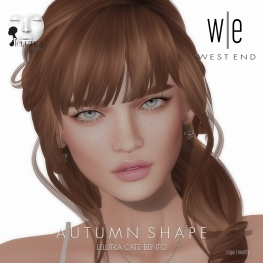[ west end ] Shapes - Autumn (Lelutka Cate Bento) AD