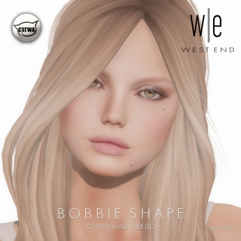 [ west end ] Shapes - Bobbie (Catwa Magy Bento)