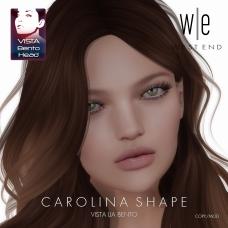 [ west end ] Shapes - Carolina (VA Lia Bento)