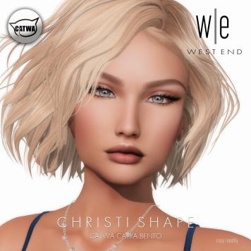 [ west end ] Shapes - Christi (CATWA Catya Bento) AD