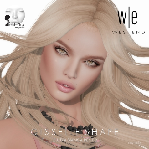 [ west end ] Shapes - Gisselle (Lelutka Bianca Bento) AD2