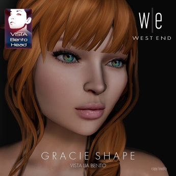 [ west end ] Shapes - Gracie (Vista Lia Bento) AD