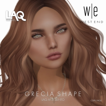 [ west end ] Shapes - Grecia (LAQ Ana Bento)
