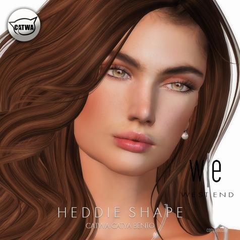 [ west end ] Shapes - Heddie (Catwa Catya Bento)2