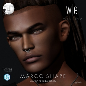 [ west end ] Shapes - Marco (Lelutka Andrea Bento) AD