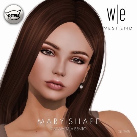 [ west end ] Shapes - Mary (CATWA Tala Bento) AD
