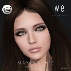 [ west end ] Shapes - Mayra (Catwa Catya Bento) AD