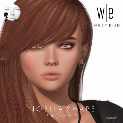 [ west end ] Shapes - Noella (Lelutka May Bento)