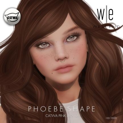 [ west end ] Shapes - Phoebe (CAYWA Pink Bento) AD