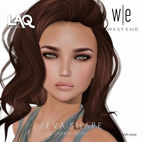 [ west end ] Shapes - Reva (LAQ Rebel Bento)