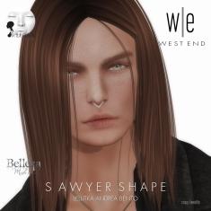 [ west end ] Shapes - Sawyer (Lelutka Andrea Bento)