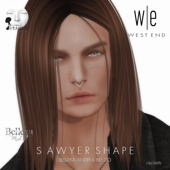 [ west end ] Shapes - Sawyer (Lelutka Andrea Bento)