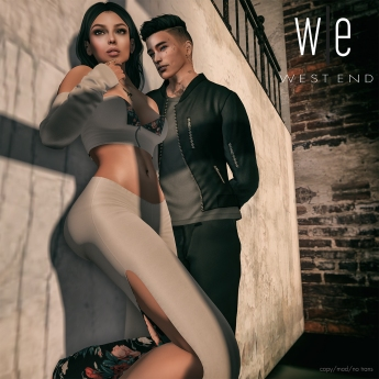 [ west end ] Casual Love Couples Pose