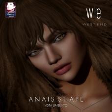 [ west end ] Shapes - Anais (Vista Lia Bento) AD 2
