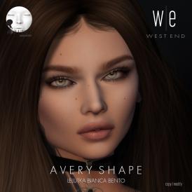 [ west end ] Shapes - Avery (Lelutka Bianca Bento) AD