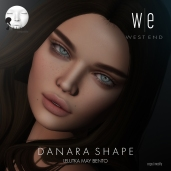 [ west end ] Shapes - Danara (Lelutka May Bento) AD