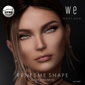 [ west end ] Shapes - Renesme (Catwa Sofia Bento) AD1