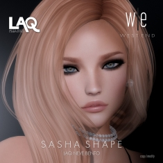 [ west end ] Shapes - Sasha (LAQ Neve Bento) AD