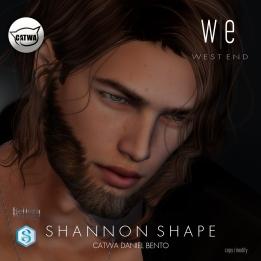 [ west end ] Shapes - Shannon (CATWA Daniel Bento) AD