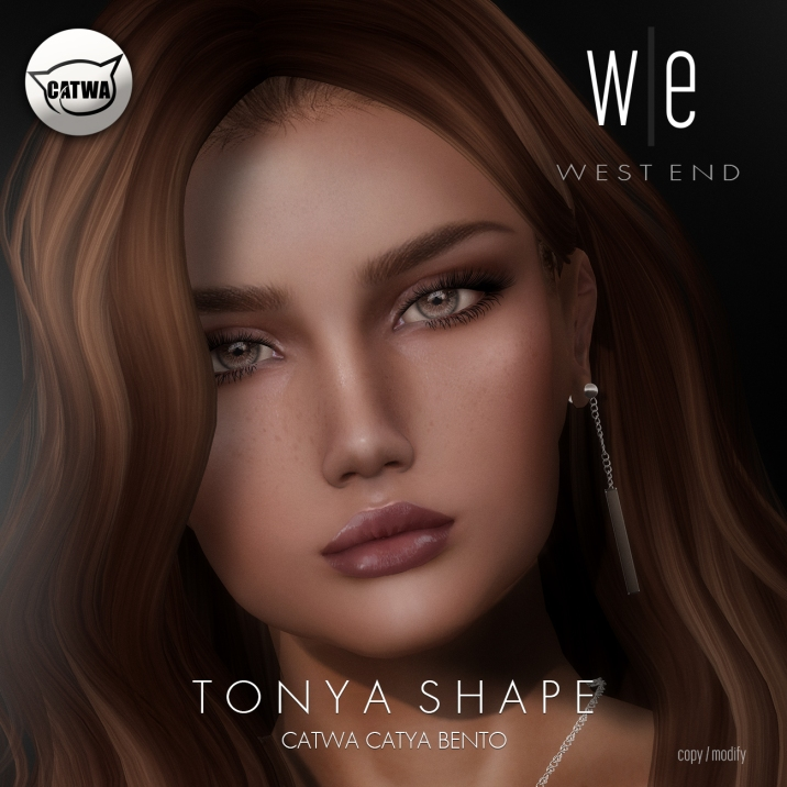 [ west end ] Shapes - Tonya (Catwa Catya Bento) AD