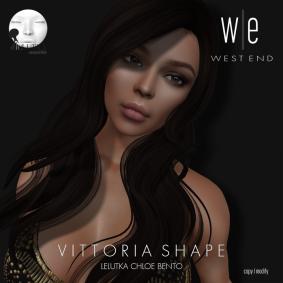 [ west end ] Shapes - Vittoria (Lelutka Chloe Bento) Store AD