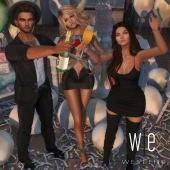 [ west end ] Poses - Cheers! - Group Pose AD