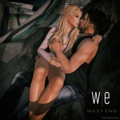[ west end ] Poses - Kiss Me Quick Couples Pose