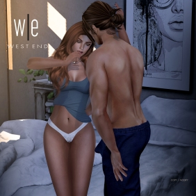 [ west end ] Poses - Oh! Again! - Couples Pose AD - 1300