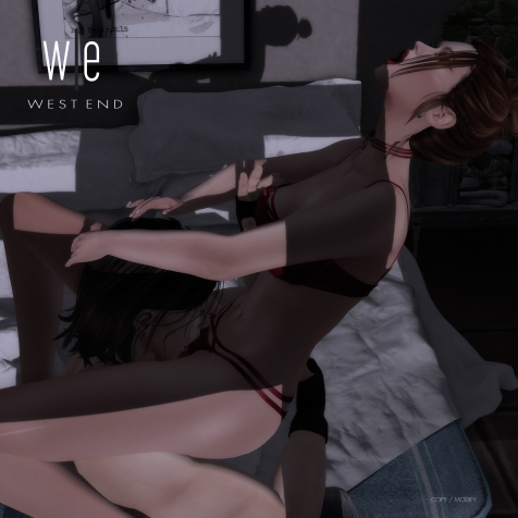 [ west end ] Poses - The Way You Love Me - Couples Pose AD