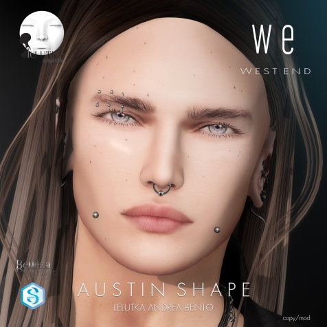 [ west end ] Shapes - Austin (Lelutka Andrea Bento) AD3