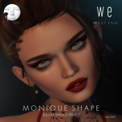 [ west end ] Shapes - Monique (Lelutka Bianca Bento) AD