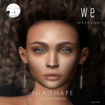 [ west end ] Shapes - Nia (Lelutka May Bento) AD