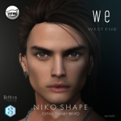 [ west end ] Shapes - Niko (Catwa Stanley Bento) AD