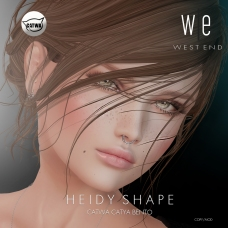 [ west end ] Shapes - Heidy (Catwa Catya Bento) AD