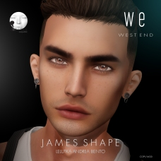 [ west end ] Shapes - James (Lelutka Andrea Bento) AD