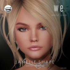 [ west end ] Shapes - Janelle (Catwa Tala Bento) AD