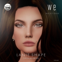 [ west end ] Shapes - Lanie (Catwa Lilly Bento) AD
