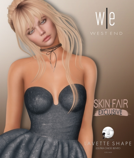 [ west end ] Shapes - Lavette (Lelutka Chloe Bento) AD3