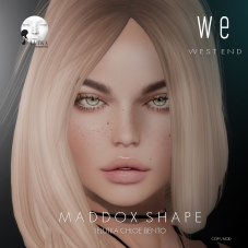 [ west end ] Shapes - Maddox (Lelutka Chloe Bento) AD