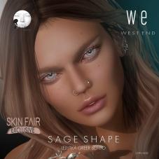 [ west end ] Shapes - Sage (Lelutka Greer Bento) AD - exclusive