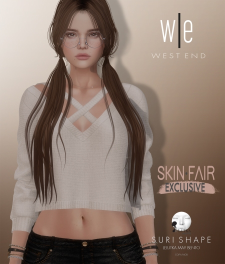 [ west end ] Shapes - Suri (Lelutka May Bento) AD3