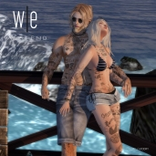 [ west end ] Bento Poses - Beach Life - Couples Pose AD 1300