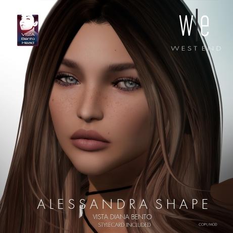 [ west end ] Shapes - Alessandra (Vista Diana Bento) AD