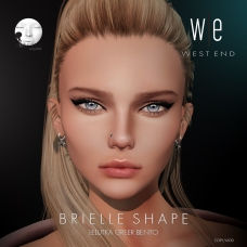 [ west end ] Shapes - Brielle (Lelutka greer Bento) AD