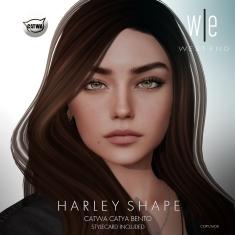 [ west end ] Shapes - Harley (Catwa Catya Bento) AD2
