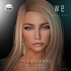 [ west end ] Shapes - Indy (Catwa Lilly Bento) AD